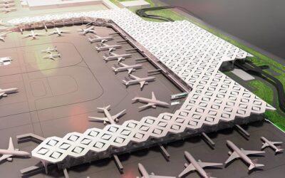 シャージャラル空港2.5倍に